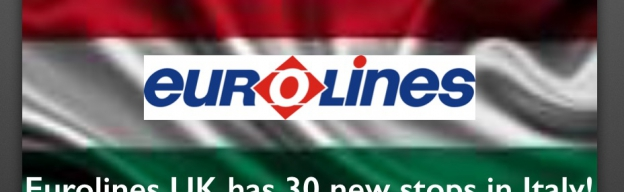 Eurolines UK: 30 new stops in Italy