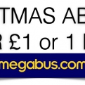 Getting you where you want to be this Christmas for £ 1 or 1 EUR