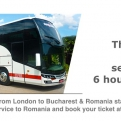 London to Bucharest & Romania now faster, directly and comfortably