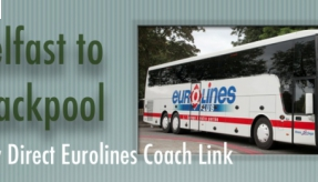 Eurolines has launched a new direct coach service between Blackpool and Belfast
