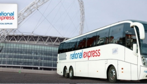 Travel with National Express to Wembley for the England v San Marino game