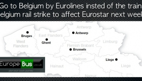 Are you going to Belgium next week? Go there by Eurolines bus insted of the train. Belgium rail strike to affect Eurostar