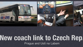 Eurolines UK introduces a new coach link from London to Czech Republic