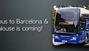 Megabus to Barcelona and Toulouse is coming!