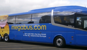 Megabus.com is testing the UK's first 15-metre Scania Irizar i6