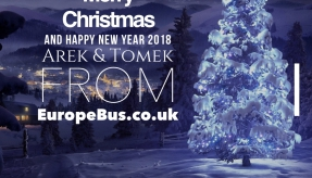 Holiday Wishes from EuropeBus' team