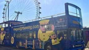 Introducing megasightseeing.com to London - a new tour bus from megabus