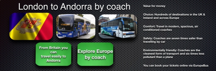 Eurolines London to Andorra