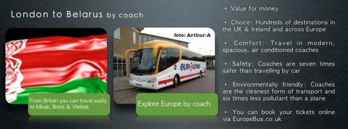 Eurolines London to Belarus