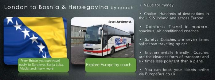 Eurolines to Bosnia and Herzegovina