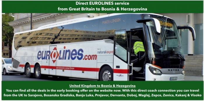 London To Bosnia Herzegovina Cheap Coachbus Tickets And