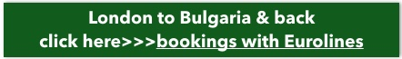 London to Bulgaria by bus