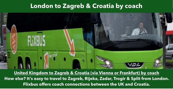 london to croatia tickets and timetables by bus