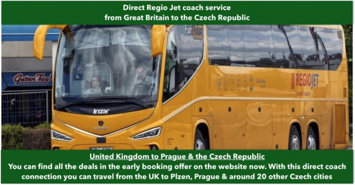 London To The Czech Republic Cheap Coach Bus Tickets And