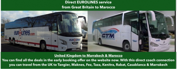 London to Morocco - Cheap Coach/Bus Tickets and Timetables - Bus to