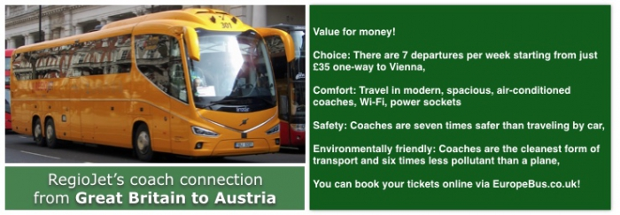 Eurolines London to Austria