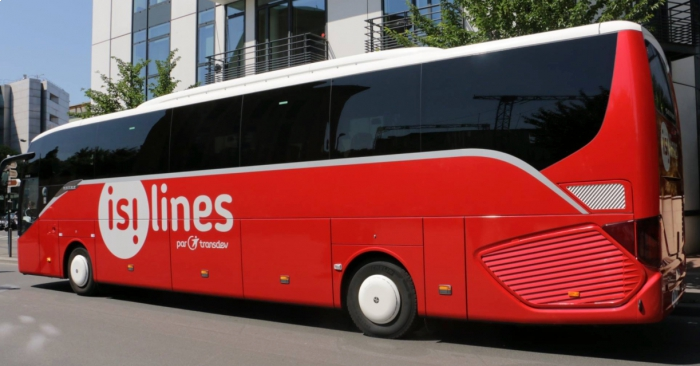 Isilines bus France