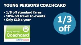 posts national express coachcard