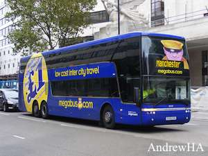 london dundee with national express megabus coach